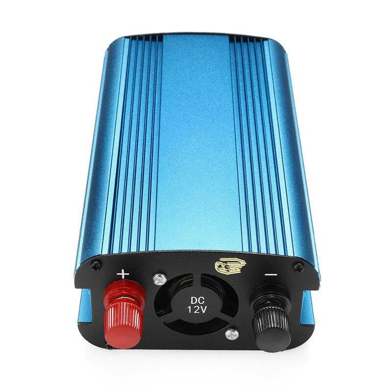 محول طاقة السيارة 12 فولت/24 فولت إلى 220 فولت 3000 واط/4000 واط ، موجة جيبية ، محول USB ، عاكس شمسي ، شاشة جهد ذكي