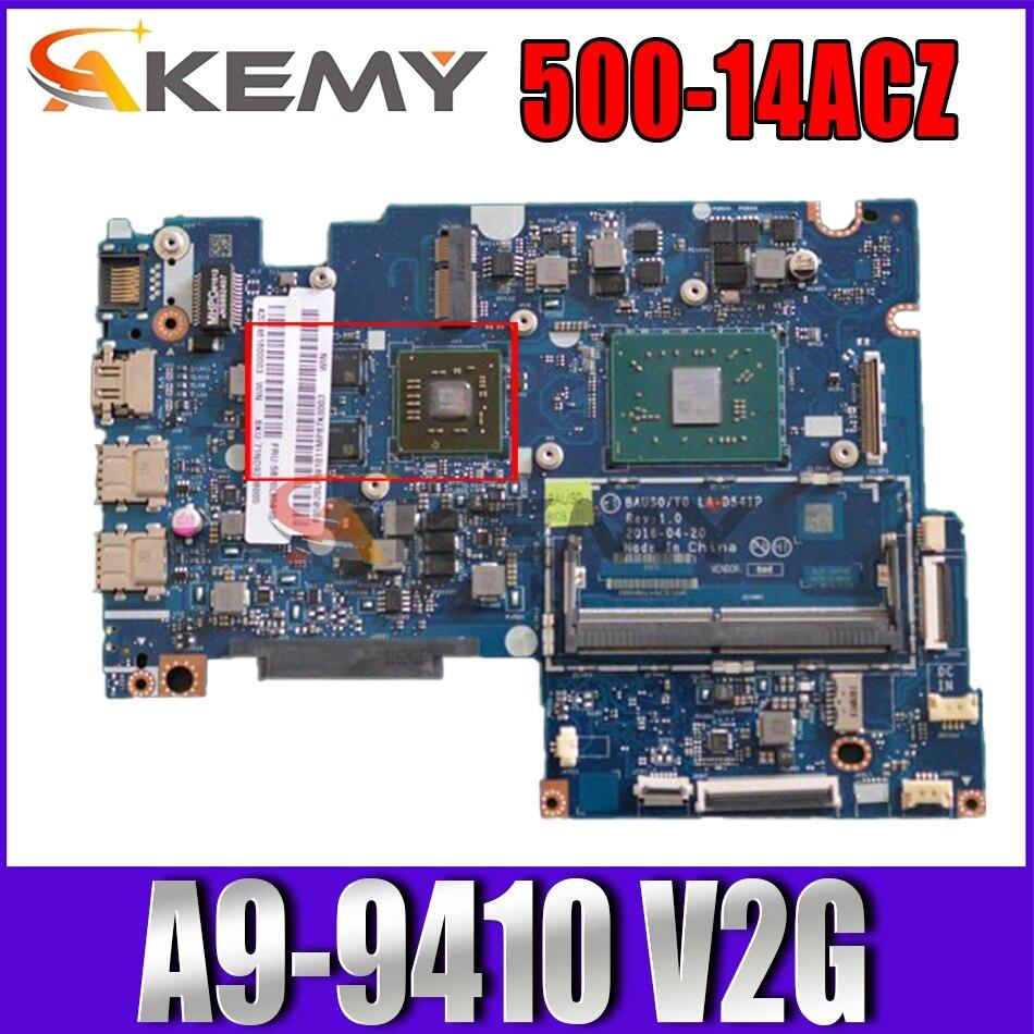LA-D541P اللوحة لينوفو اليوغا 500-14ACZ اللوحة المحمول A9-9410 V2G 5B20L80786 5B20J76037 2 5B20L80796 اختبار يا