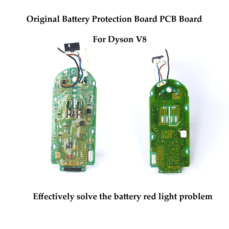 Original 21.6V Battery Protection Board for Dyson V8 V6 V7 Vacuum Cleaner Replacement Circuit Boards PCB Board Works Well replacement usb dc 5v humidifier circuit board atomizing drive plate environmental protection pcb circuit board with ic chip