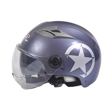 GXT Doppel Objektiv Visier halb Helm Motorrad Motorrad Reiten Helme Männer & Frauen Roller Radfahren Moto Reiten Casco Capacete