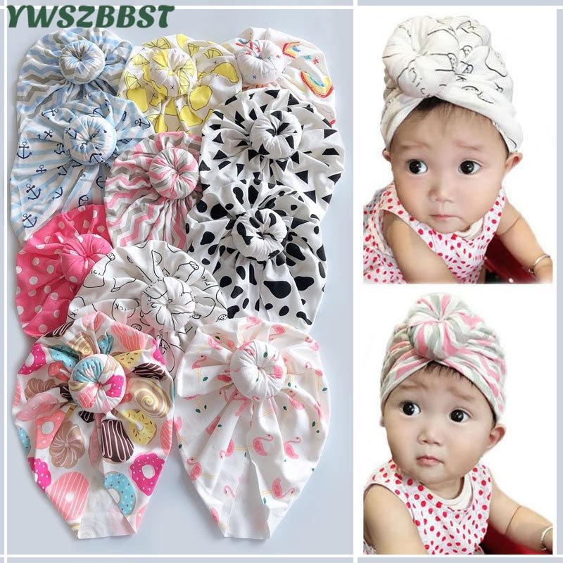 New Spring Summer Turban Cap Scarf Cotton Children Hat Cap Boys Girls Neck Scarf Kids Beanies Knitte