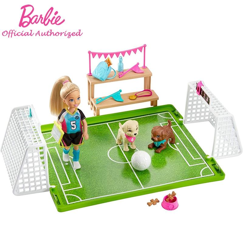 Muñecas de fútbol de estilo Chelsea para niñas, juguetes para jugar al...