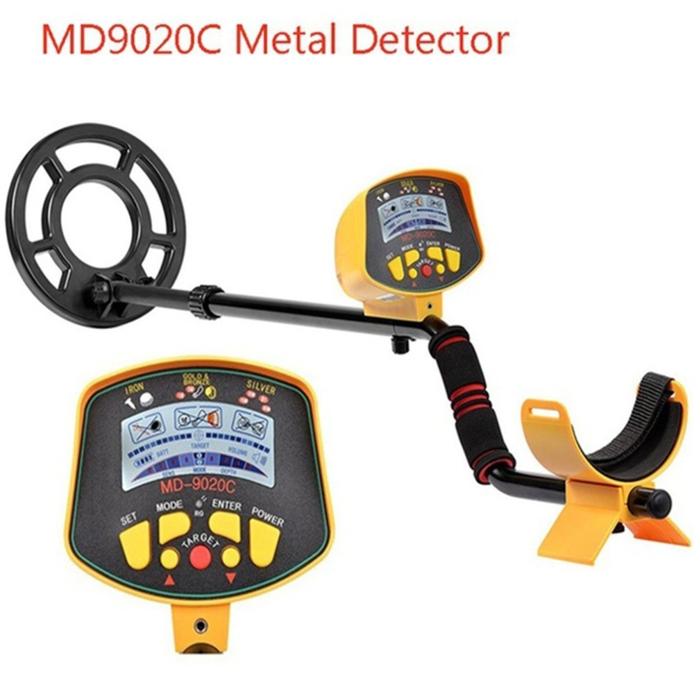free shipping de hs high sensitivity broadband microwave coaxial rf detector 0 01 3ghz 9ghz MD9020C Underground Metal Detector Security High Sensitivity LCD Display Treasure Gold Hunter Finder Scanner Free Shipping