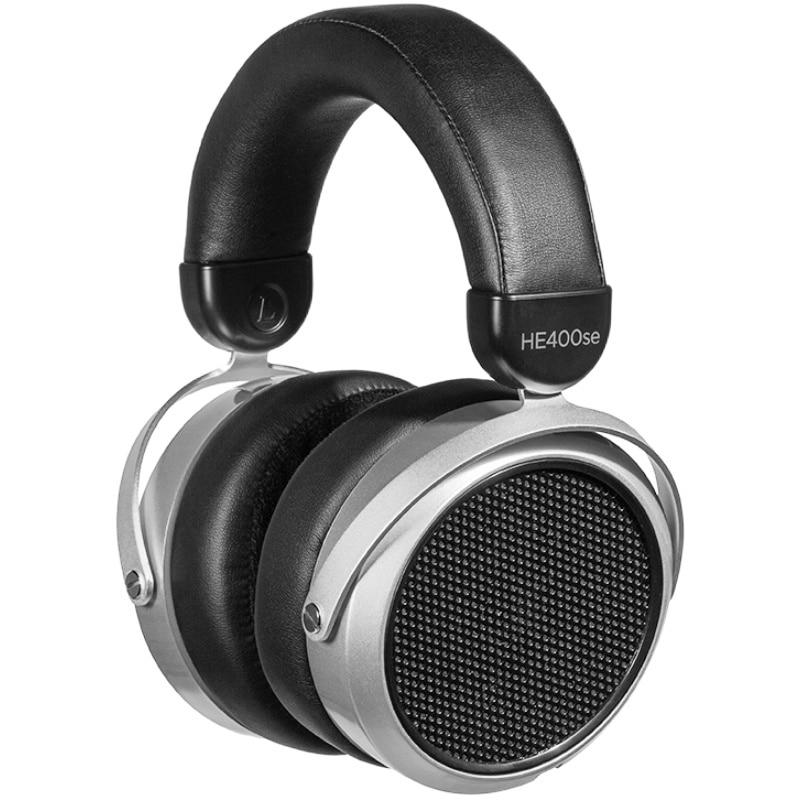سماعة أذن هيفيمان HE400SE بإصدارين مغناطيسية غير مرئية فوق الأذن بسماعات أذن مستوية 25ohm بتصميم مفتوح من الخلف بتصميم ديناميكي
