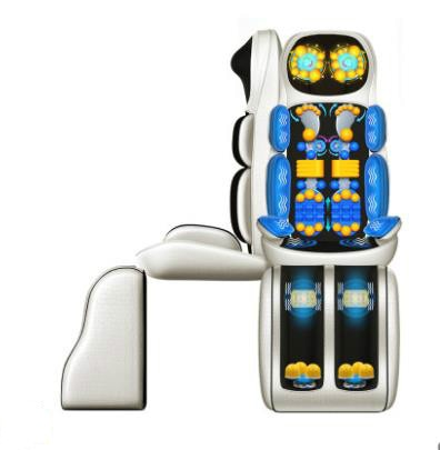 Masajador de vértebra cervical multifunción para el hogar, silla de masaje de 220 v, masajador elétrico de cintura trasera pa