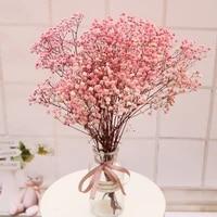 Fleurs Gypsophila sechees preservees  souffle de bebe  millions detoiles  Bouquet de fleurs  decoration de maison  Mariage naturel