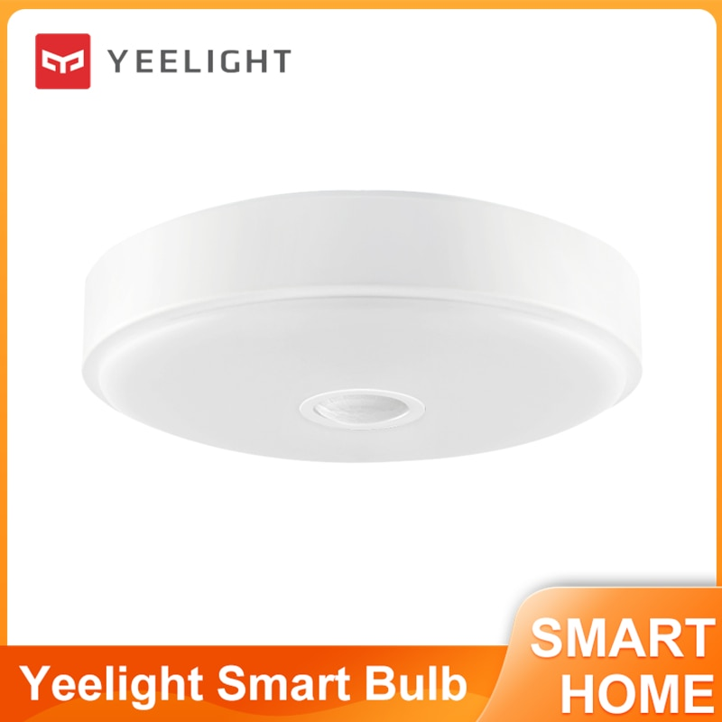Yeelight YLXD09YL 10 واط الإنسان مستشعر حركة الجسم LED ضوء السقف الاستشعار الشرفة الممر AC220-240V 670LM فانوس Ra90 الذكية مصباح