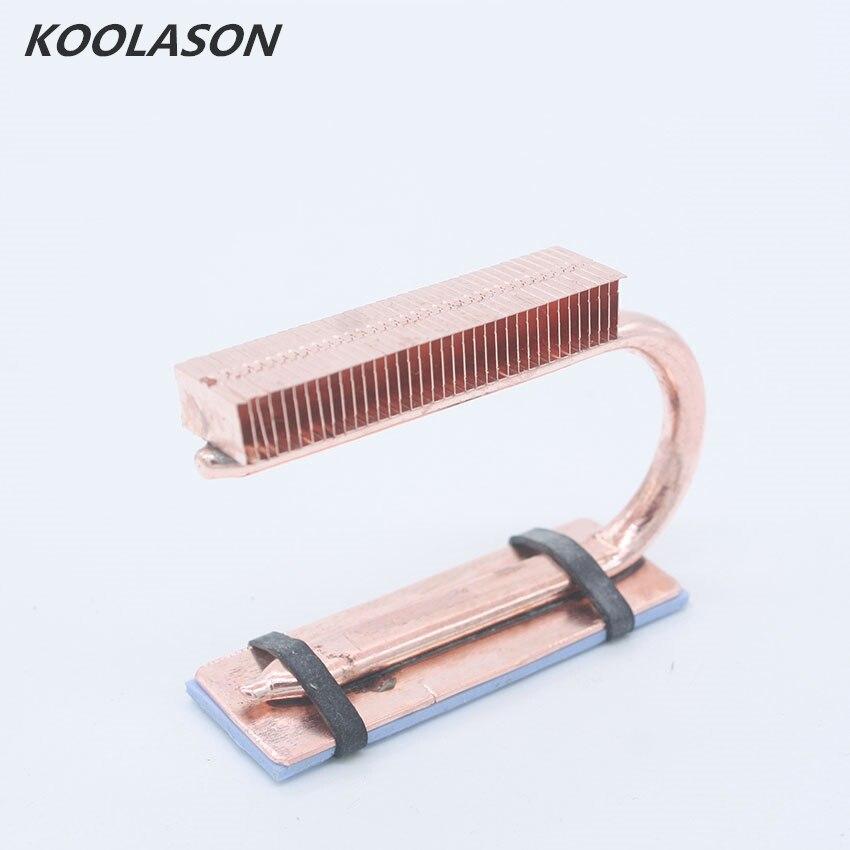KOOLASON, ordenador portátil M.2 NVME HDD SSD, barra de disco duro sólido, aleta de cobre, tubo de calor, enfriador, disipador de calor, chaleco de radiador