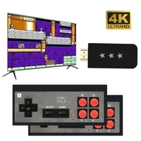 usb wireless handheld tv video game console build in 568 classic 8 bit game mini console dual gamepad hdmi compatible output