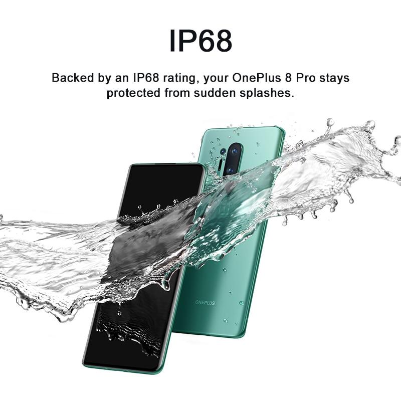 Фото5 - Глобальная версия Oneplus 8 Pro 5G Смартфон Snapdragon 865 8 ГБ 128 6,78 120 Гц жидкости Дисплей 48MP Quad OnePlus официального магазина Carter's