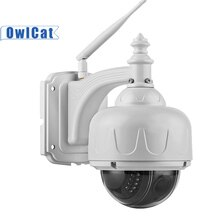 OwlCat SONY CMOS HD 2MP 5MP Wifi Dome IP Camera 5X Optical Zoom Outdoor Waterproof Wireless IR PTZ CCTV Microphone Memory slot