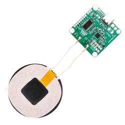 5v-13.5v módulo sem fio do carregador que recebe a potência 20w transmissor de carregamento rápido sem fio do epp do telefone móvel