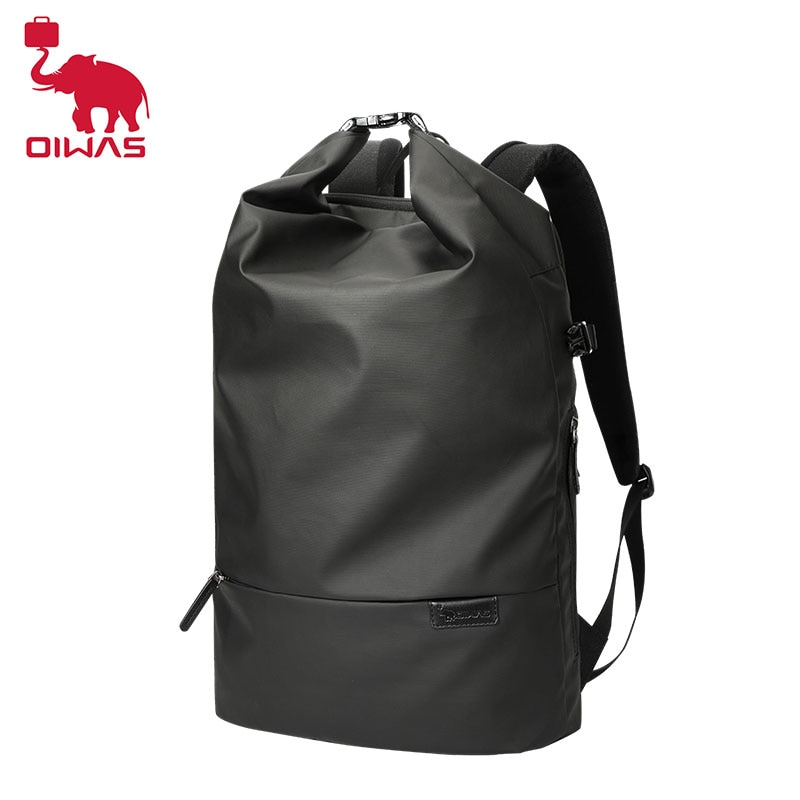 Oiwas Men Backpack Fashion Trends Youth Leisure Traveling SchoolBag Boys College Students Bags Compu