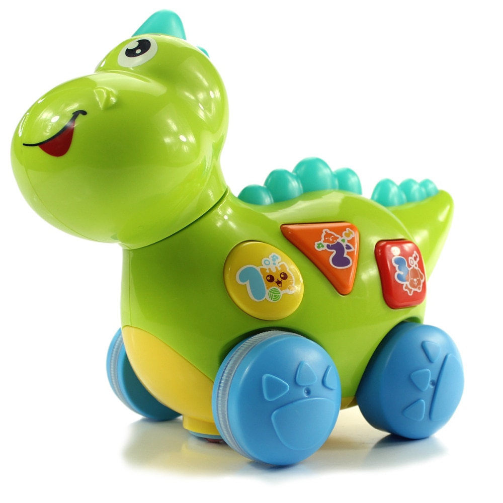 New Baby Toy Musical Multifunctional Electric Dinosaur Music Toys Fun Learning Educational Toys For Children Baby Kids Xmas Gift