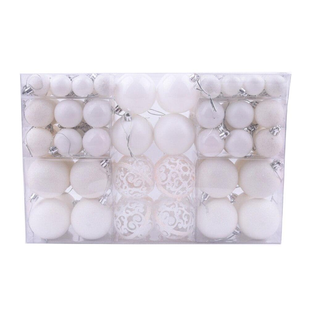 100 Uds árbol de Navidad Mini adornos irrompibles bolas accesorios de vacaciones para decoraciones de Navidad abrazo-ofertas