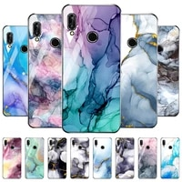 for huawei p20 lite case tempered glass watercolor painting cover funda huawei p20 pro p20lite p20pro p 20 p2 0 cases bumper