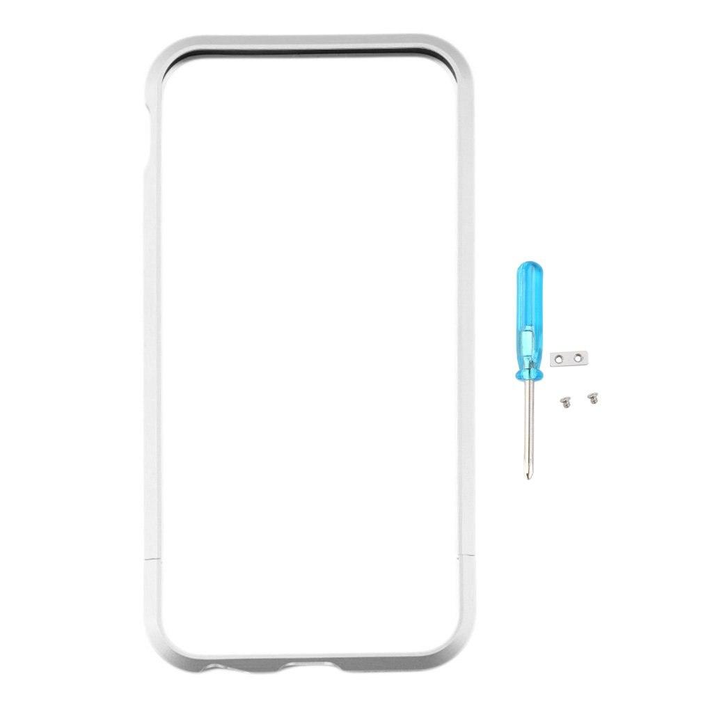 Cubierta Ultra delgada de lujo de la caja del teléfono del marco del parachoques del Metal para el Iphone 6 4,7 cubierta ajustada Apple Iphones
