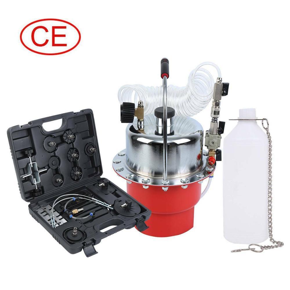 Samger Pneumatic Air Pressure Bleeder Tool Professional Auto Vacuum Brake Bleeder And Clutch Bleeding Oil Changer