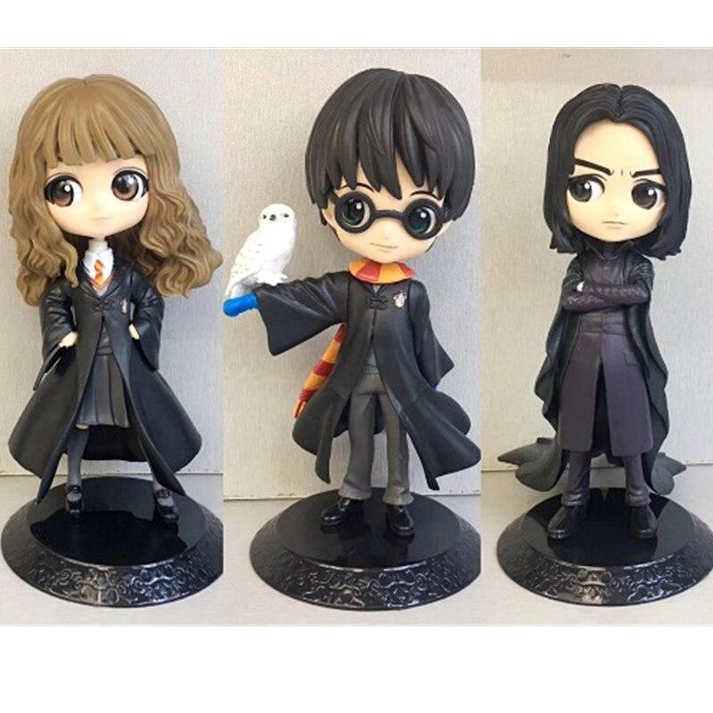 Figuras de acción de Harry Potter, Hermione Snape, modelo en PVC de 16CM, muñecos coleccionables