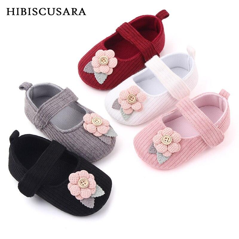 Bebê primeiros caminhantes roupas crianças infantil do bebê recém-nascido menino menina unissex macio sola berço sapatos flor tecido de algodão prewalker sapatos