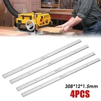 4 pcs 308121 5mm hss portable planer blades for metabo dh330 dh316 double edge for woodworking tools accessories