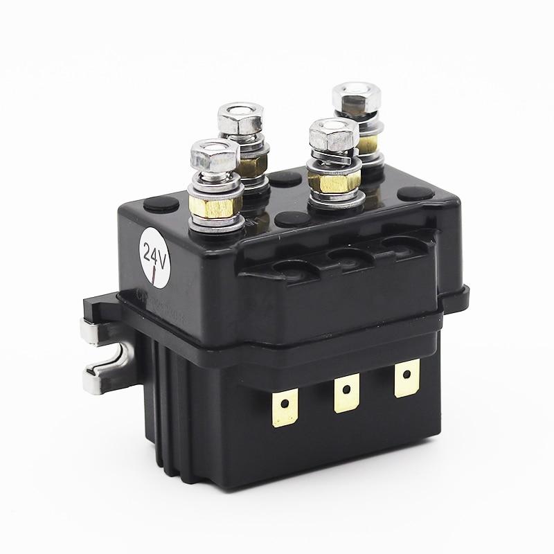 Contactor DC de cabrestante eléctrico, contador de transferencia inversa y delantera, 12V,...