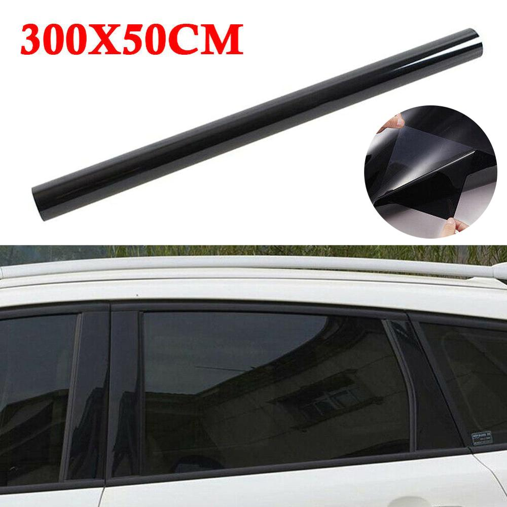 5%/15%/20%/25%/35%/50% light transmission VLT thick anti-wear high-definition solar film car film glass insulation film 300*50cm