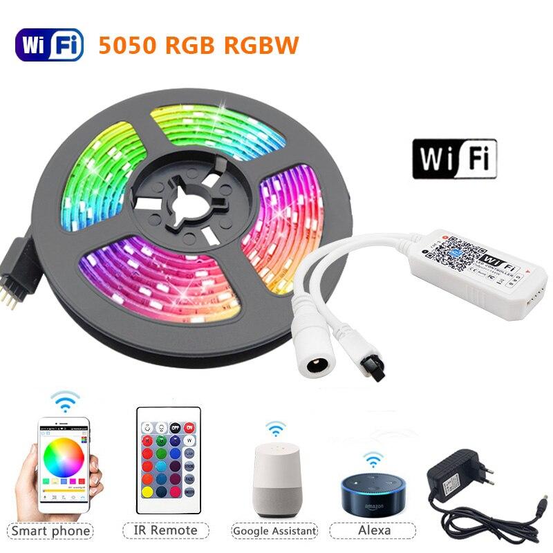 5m 10m 15m RGBW tira de LED RGBWW luz RGB 5050 60Led...