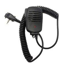 Lautsprecher Mikrofon Für Vertex Standard VX210 VX228 VX230 VX231 VX298 VX300 VX350 VX351 VX354 VX400 VX410 Tragbare 2-weg radios