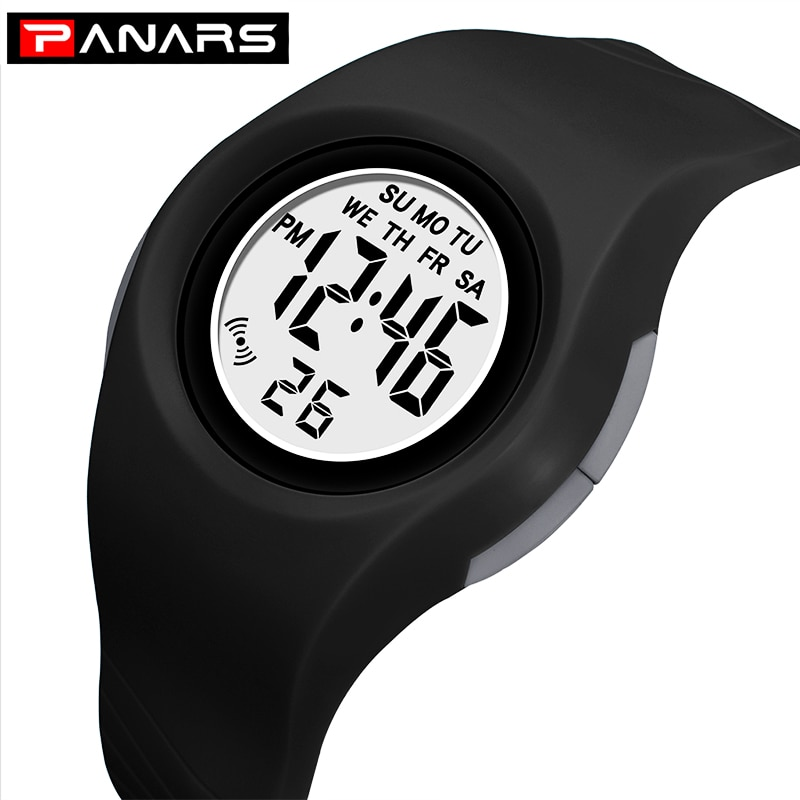 ohsen brand mens boys digital sports watches waterproof rubber band wristwatch led colorful backlight red army kids watch gift Kid Watches Waterproof Children's Digital Watch For Girl LED Electronic Chronograph Clock Kids Sports Watch Boys Wristwatch gift