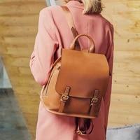 style backpack designer handbags leather large capacity multi function korean leisure travel bag multi function back ladies bag