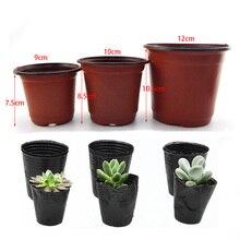 50/100 шт 6/8/12 см горшок для выращивания растений садовые Семена Детские стаканчики для выращивания растений садовые горшки для рассады садовы...