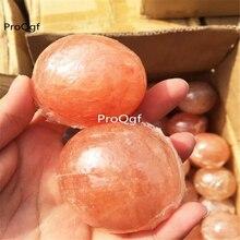 Prodgf 3 uds un conjunto de jabón de sal de Himalaya en forma aleatoria tomar nota