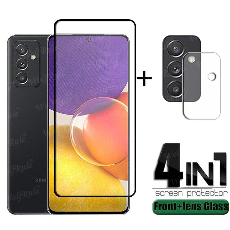 Volle Abdeckung Glas Für Samsung Galaxy A82 Glas Für Samsung A82 Gehärtetem Glas HD Film Screen Protector Für Samsung A82 objektiv Film