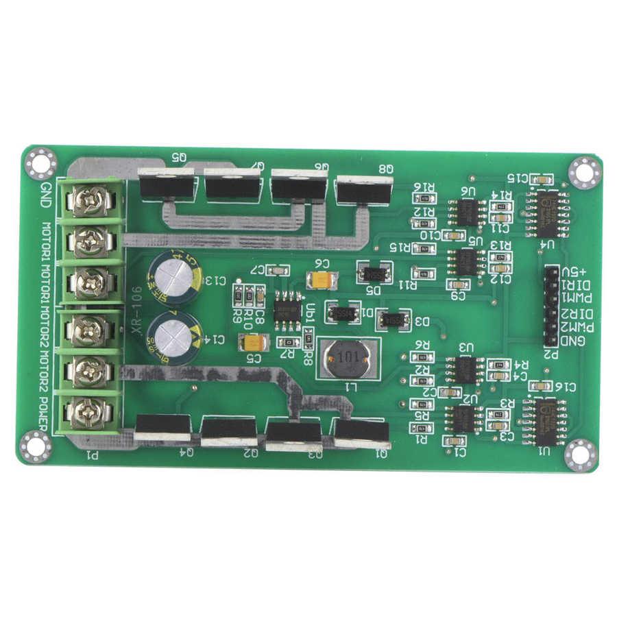 Controlador de Motor Dual módulo H-DC de puente MOSFET IRF3205 3-36V 10A 30A nuevo