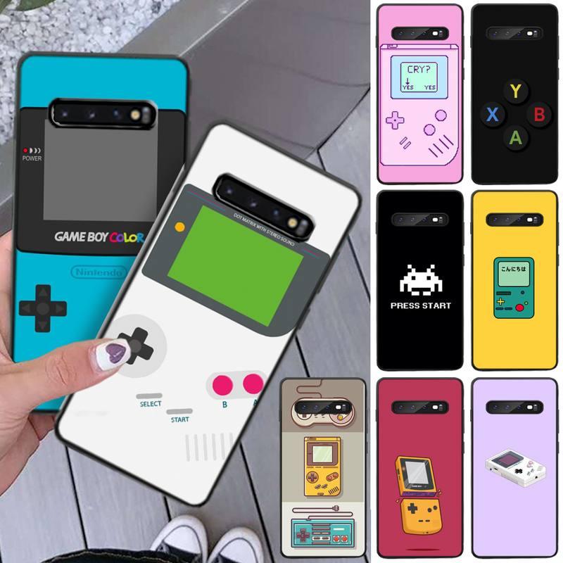 LouisY Nostalgia GAMEBOY DIY pintado Bling caja del teléfono para Samsung S8 9 10 S8 9 10 plus S10E lite S10-5G S20 UITRA plus