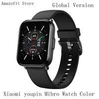 Умные часы Xiaomi Mibro, водонепроницаемые, 5 АТМ, пульсометр, аккумулятор 270 мАч, для IOS, Android, 128 Мб ОЗУ, 2 Гб ПЗУ