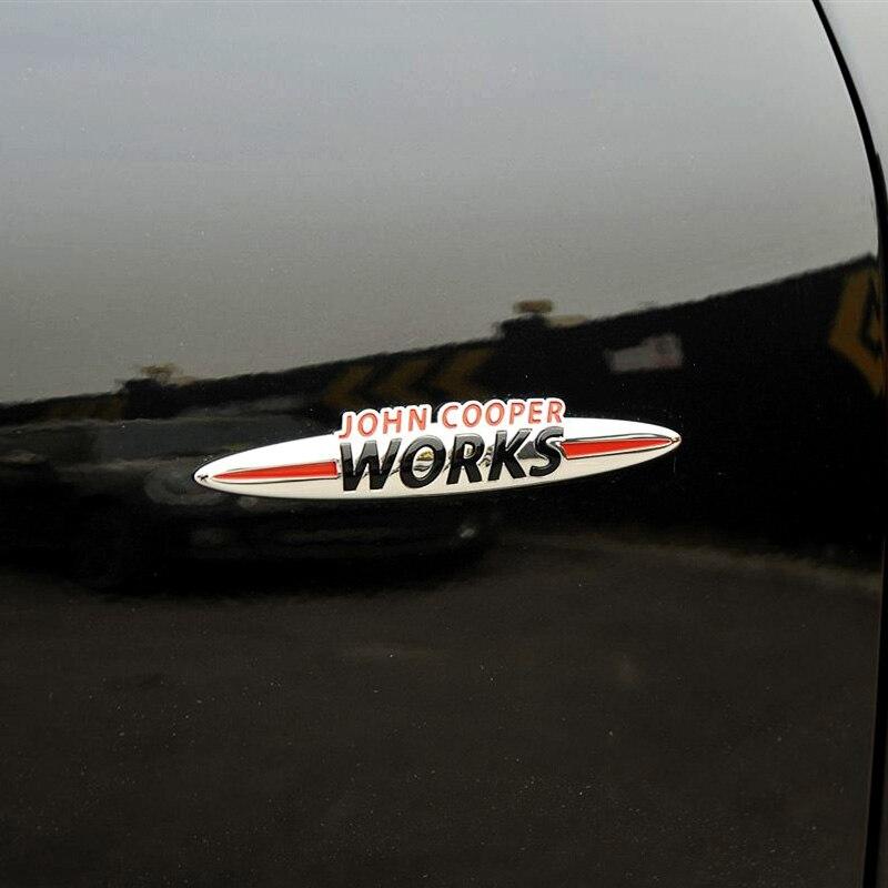 JCW 3D decoración pegatina para BMW MINI Cooper S John Cooper Works...