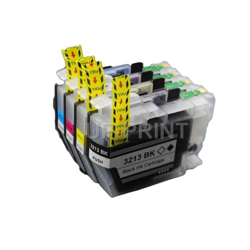 Hasta 4x LC3213 LC3211, compatible con Impresoras Brother LC3213XL, DCP-J772DW, DCP-J774DW MFC-J890DW