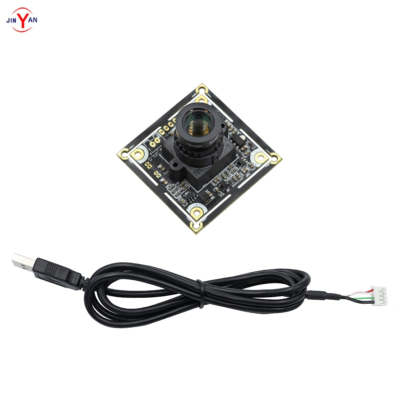 Módulo de cámara HD Industrial de 5 millones de LINUX con distorsión Android, cámara USB libre 2592x1944