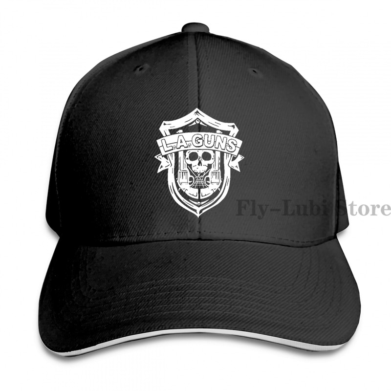 La Pistolen Band Logo Baseball cap männer frauen Trucker Hüte mode verstellbare kappe