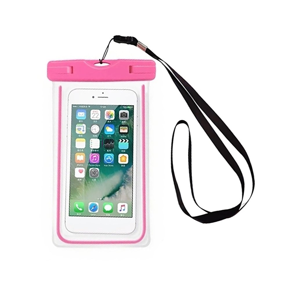 Universal Luminous Waterproof Mobile Phone Pouch Fluorescence Waterproof Smart Phone Bag