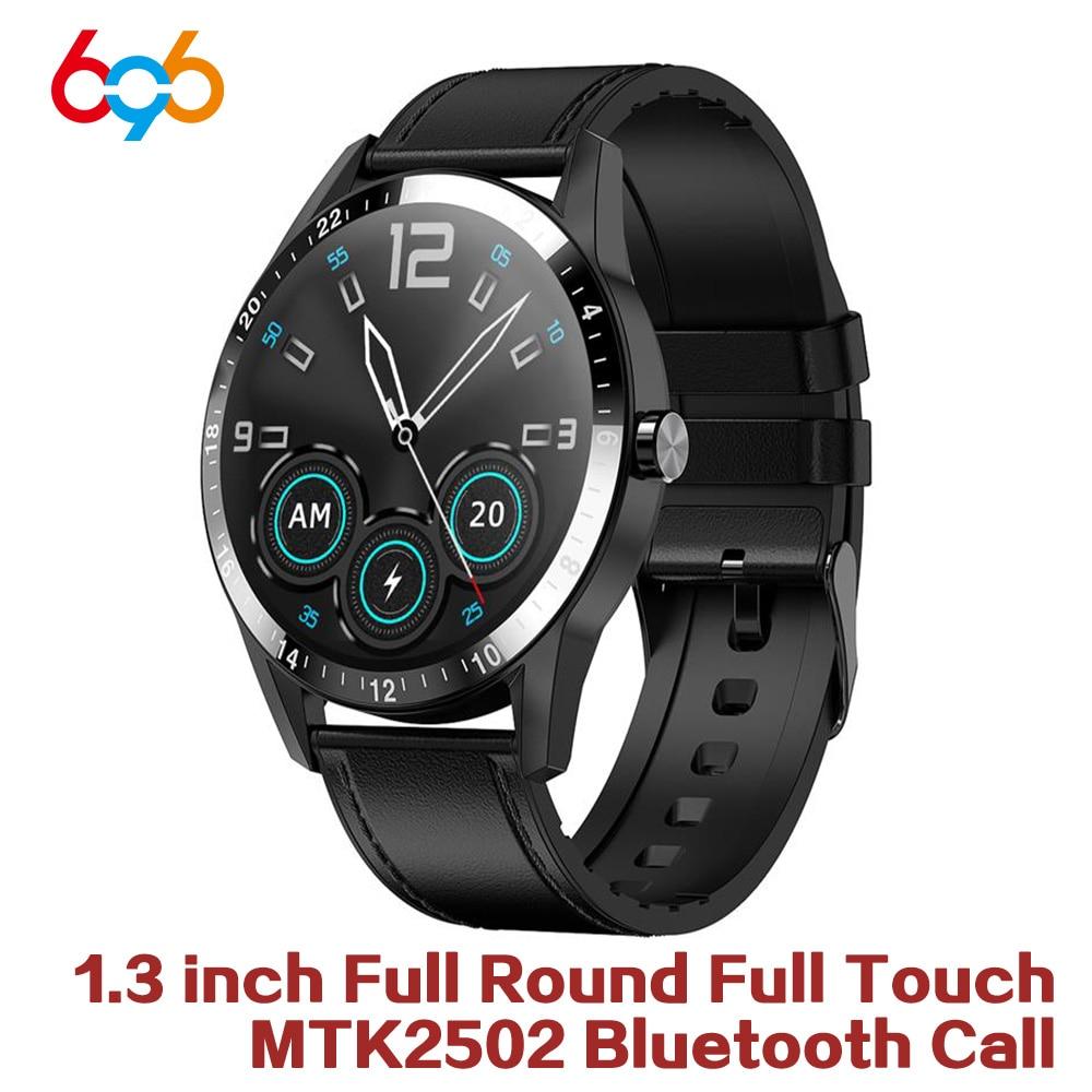 Nuevo reloj inteligente para hombre, pulsera a prueba de agua con Bluetooth para llamar a la presión arterial, pulsera de moda, reloj inteligente para Fitness PK L8 L7 L13