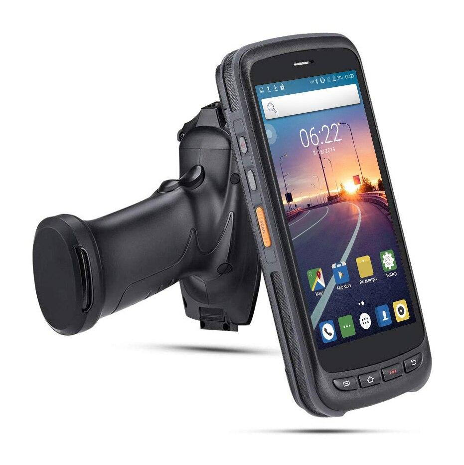PDA Scanner Handheld Android POS Terminal de escáner de código de barras 2D 4G WiFi lector de código de barras 8000mAh batería Zebra SE4710 colector de datos