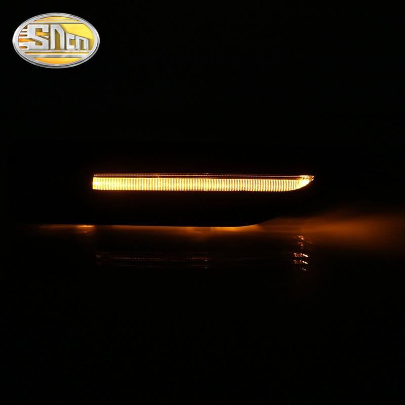 SNCN 2PCS LED Turn Signal Light For Kia K2 Rio 2011 2012 2013 2014 2015 2016 Car Fender Light Waterproof 12V Side Lamp