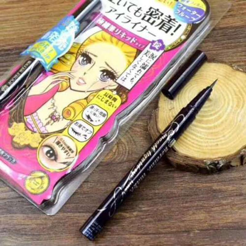 1 Pcs Liquid Eyeliner Ultra Slim 0.1mm Waterproof Smudgeproof Smooth Eyeliner Pen THIN889