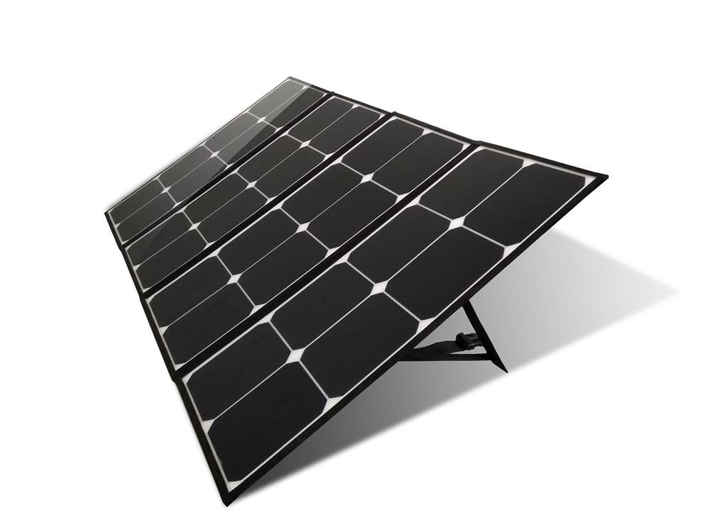 رخيصة الثمن أفضل 100 واط للطي خلايا شاحن بالطاقة الشمسية 12 فولت 110 واط طوي لوحات