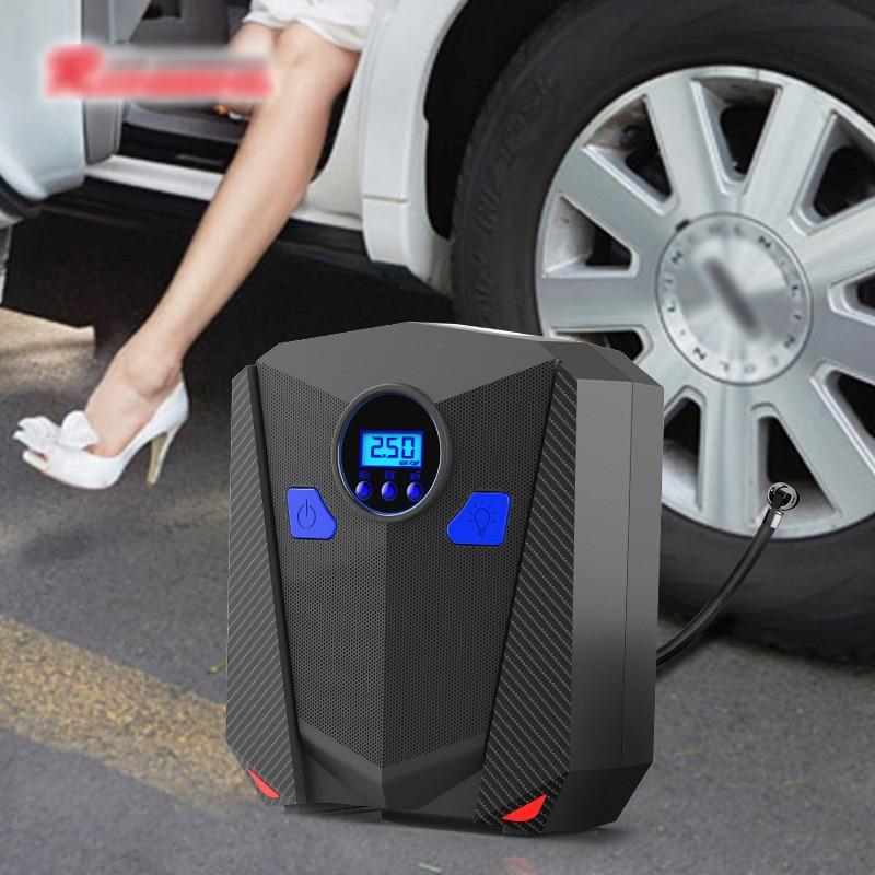 Mini neumático eléctrico portátil para coche compresor de bomba de aire, 12V,...