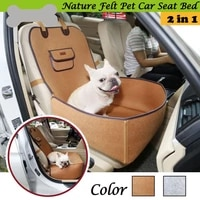 car pet cushion seat for dogs large felt cloth carrier seat covers transporter fence protective boot drive travel mat products