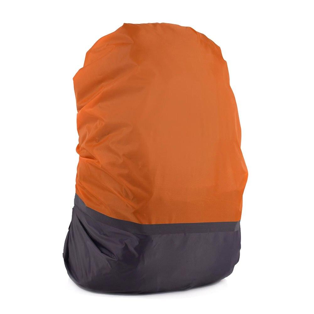 Cubierta impermeable de la lluvia de 4 colores impermeable mochila profesional impermeable cubierta del bolso de la mochila de Camping senderismo ciclismo